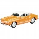 VW Karman Ghia Coupé orange 1:87 - Sammlermodell von Schuco